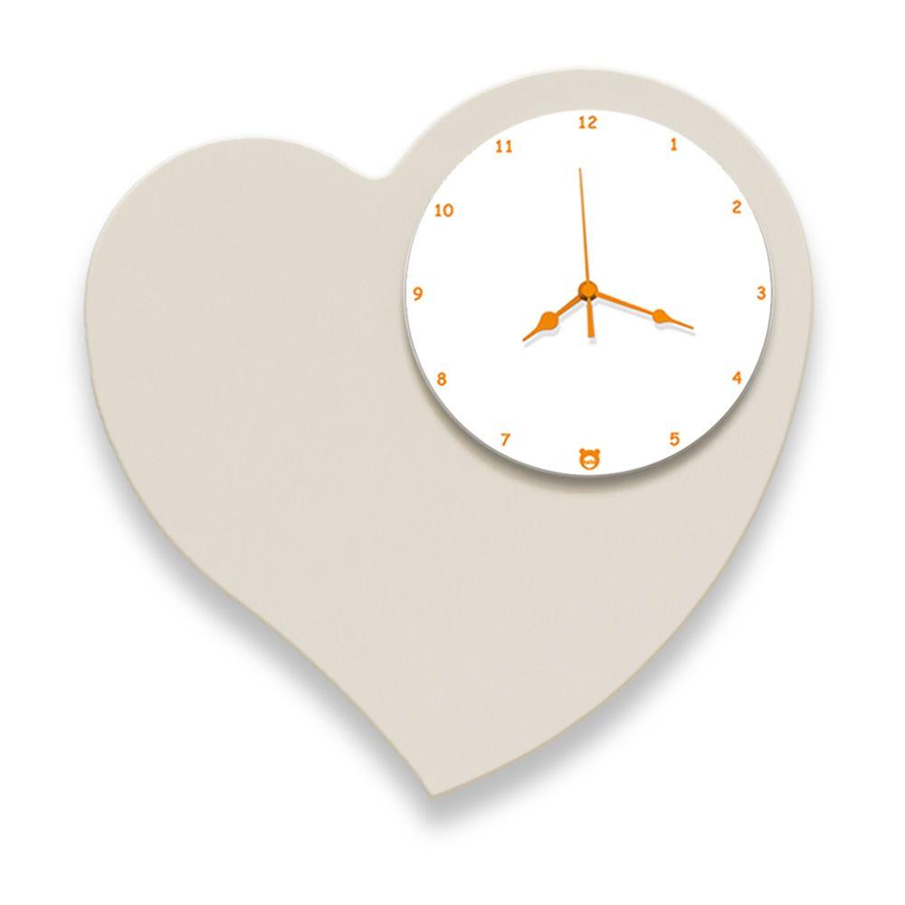 amore horloge murale en bois mdf disponible en diff rentes couleurs sediarreda. Black Bedroom Furniture Sets. Home Design Ideas