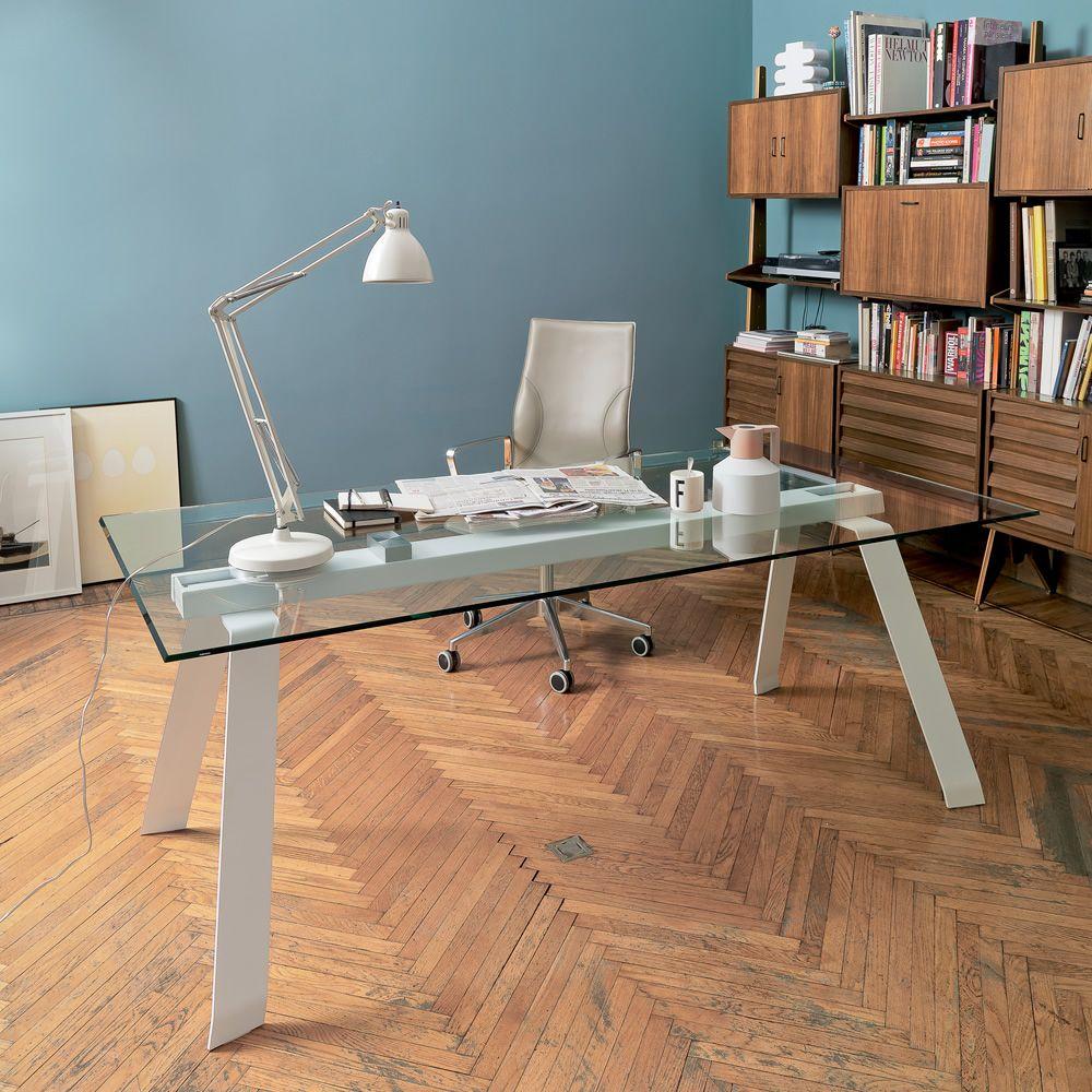 Toronto tavolo fisso midj struttura in metallo o legno for Sedie design toronto