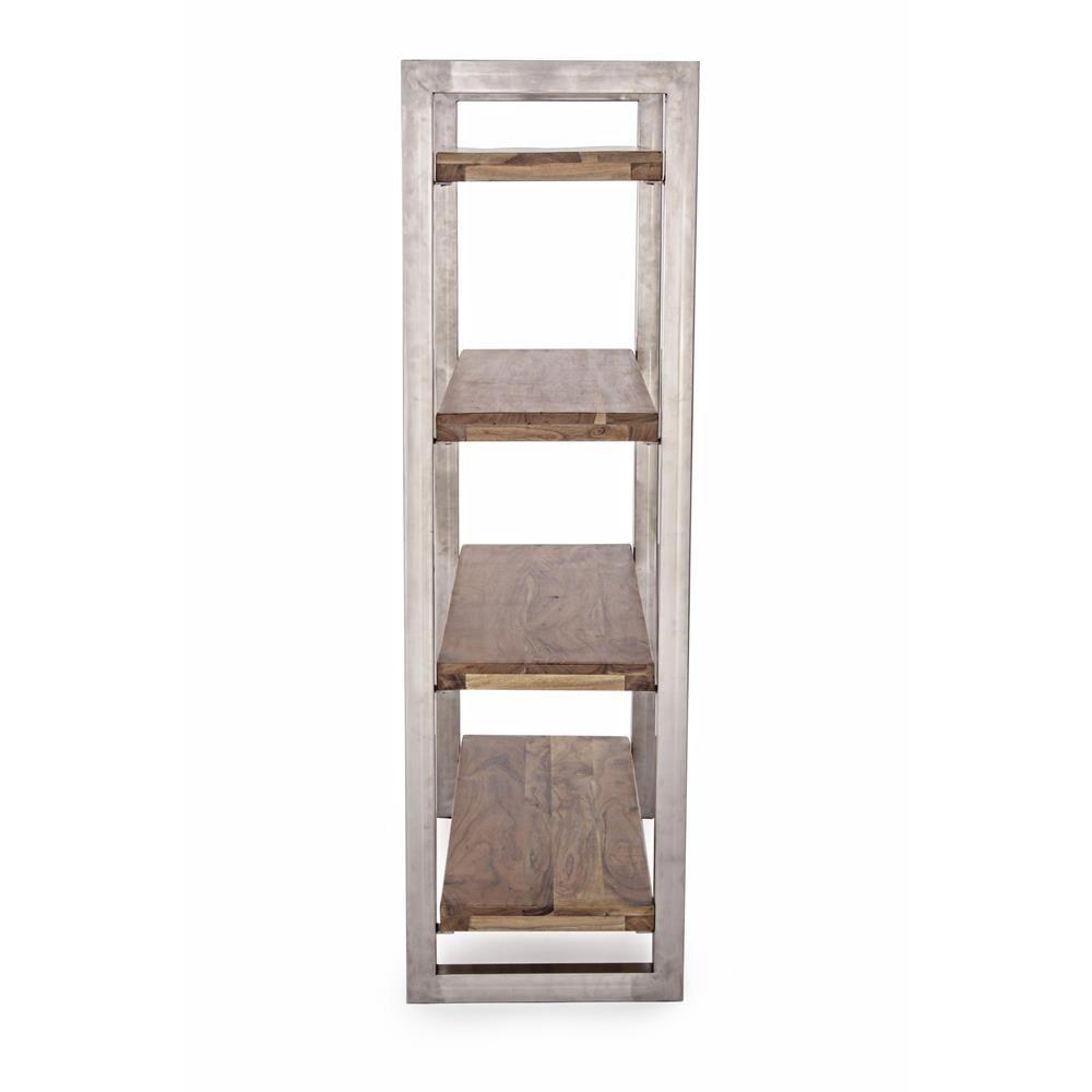Timboct shelf regal oder b cherregal aus metall mit for Regal aus metall