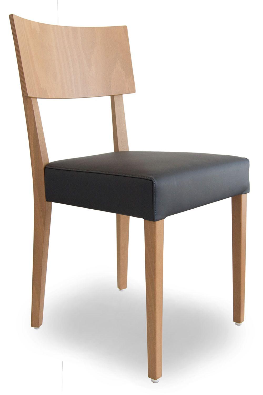 Barley designer stuhl von tonon mit holzgestell und for Holzstuhl mit leder