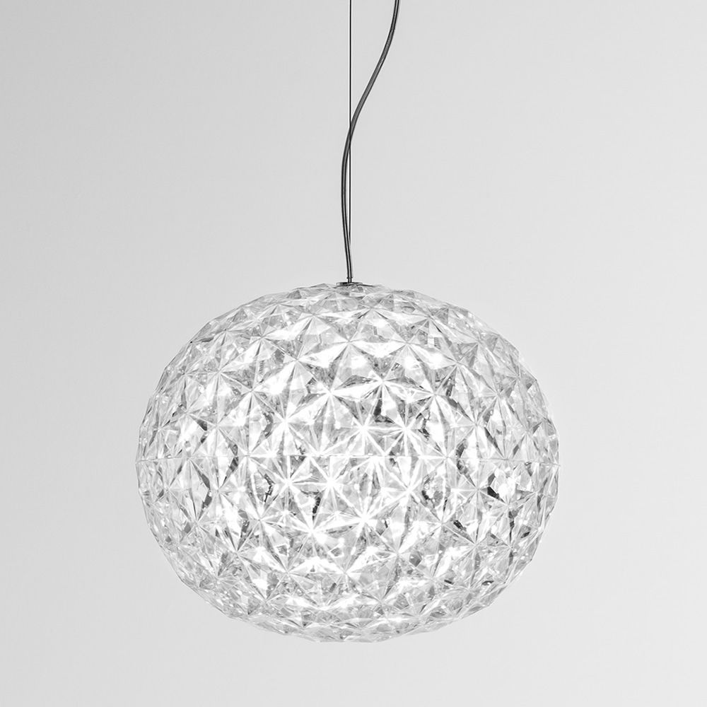 Planet s lampada a sospensione kartell in tecnopolimero for Lampade kartell outlet