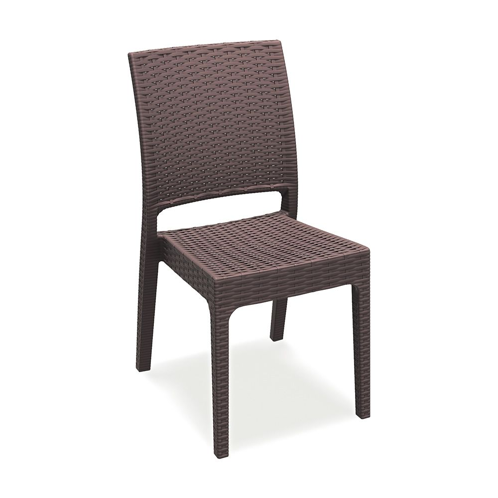 Tt1008 chaise de jardin en r sine et fibre de verre - Chaise de jardin empilable ...