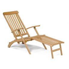 LS2 - Chaise longue pieghevole in legno