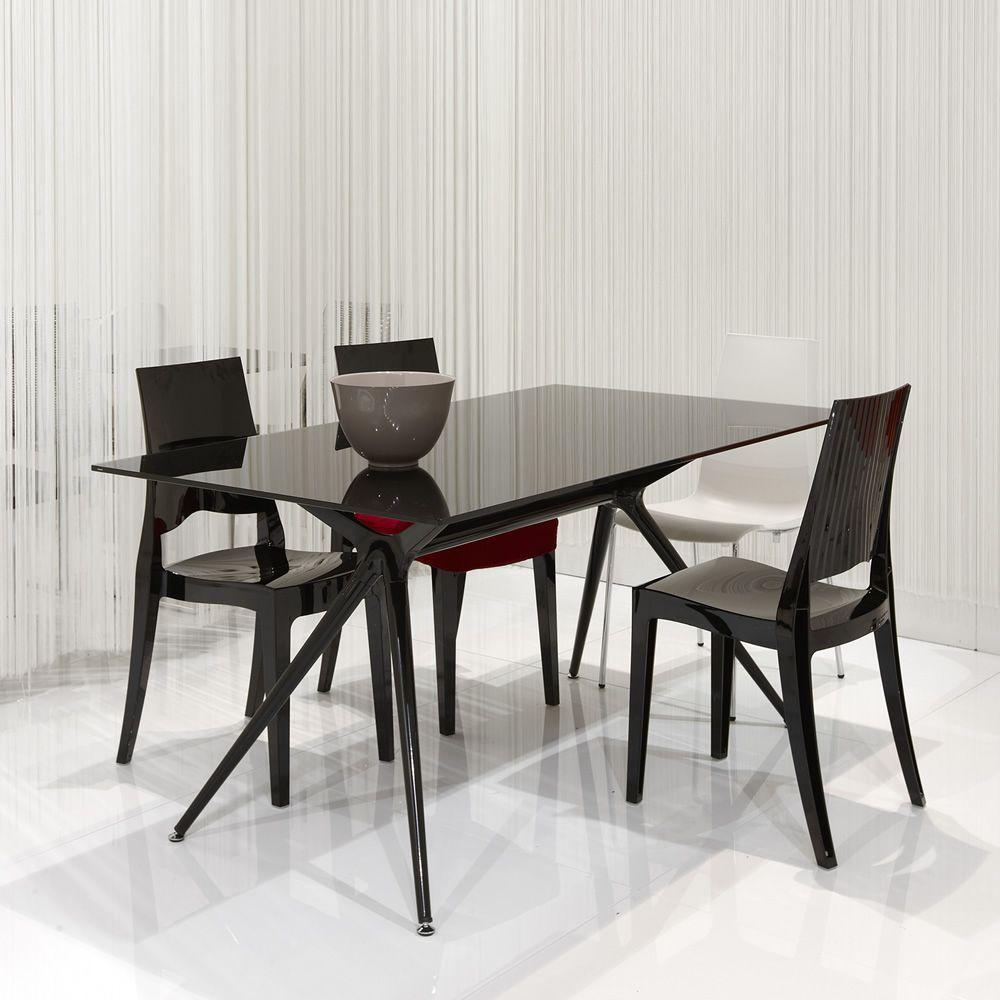 Glenda 2360 sedia design in policarbonato impilabile for Sedie policarbonato