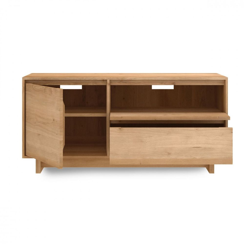 Wave tv mueble para tv ethnicraft de madera en distintas Muebles flotantes para tv