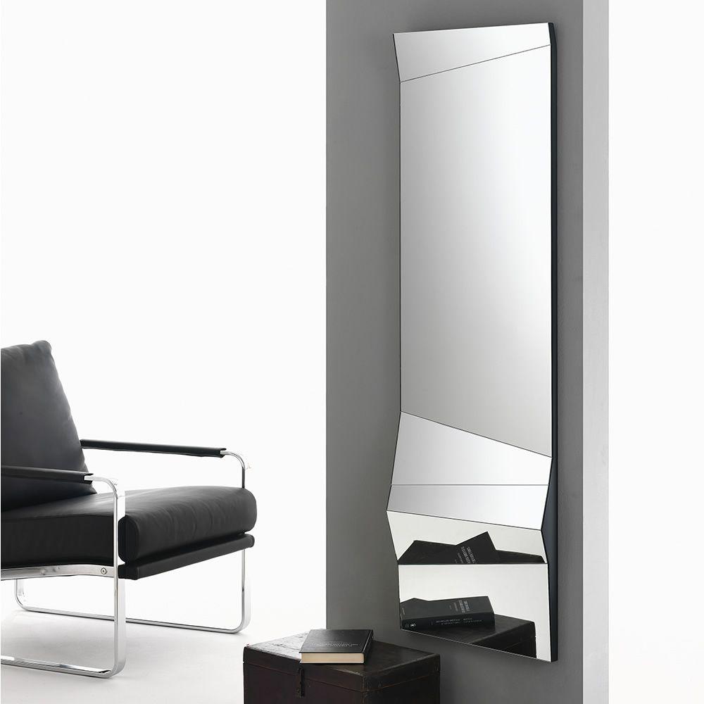 Illusion specchio di design bontempi casa posizionabile orizzontale o verticale sediarreda - Specchio d arredo ...