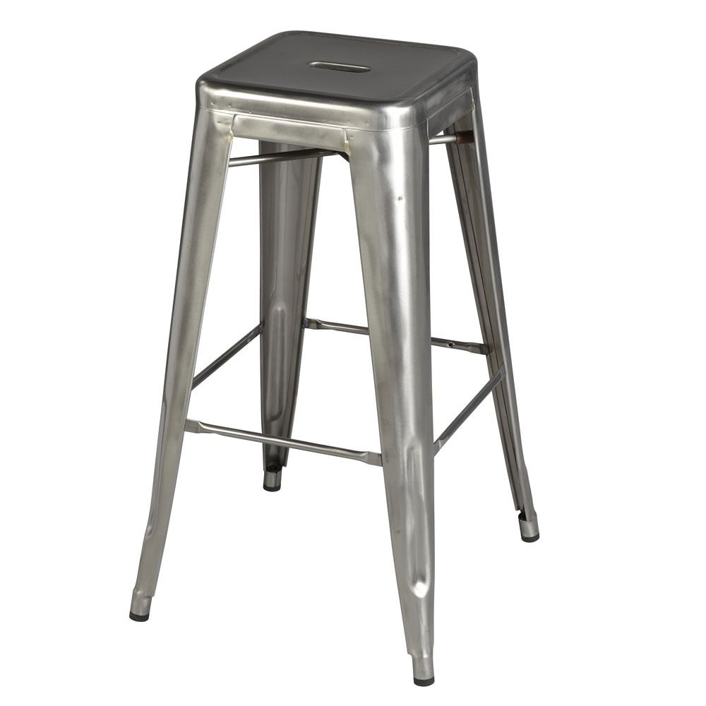 tabourets h for bars and restaurants tolix design stool for bars and restaurants in metal. Black Bedroom Furniture Sets. Home Design Ideas