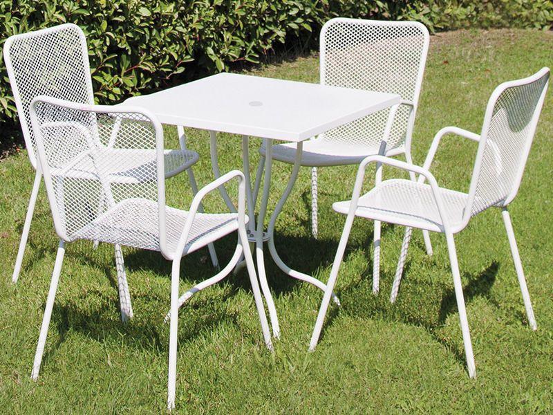 Lucky fauteuil en m tal empilable diff rentes couleurs - Fauteuil pour jardin ...