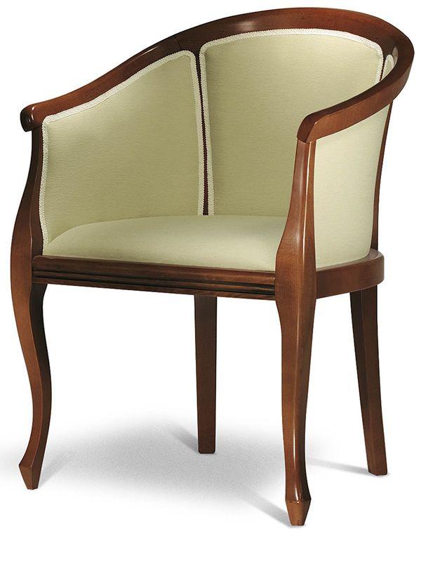 vst134 klassischer gepolsterter holzsessel verschiedene farben und bez ge sediarreda. Black Bedroom Furniture Sets. Home Design Ideas