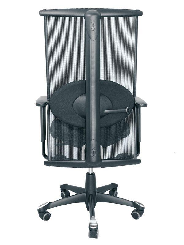 h09 meeting in chaise de bureau ergonomique h g avec coussin lombaire sediarreda. Black Bedroom Furniture Sets. Home Design Ideas