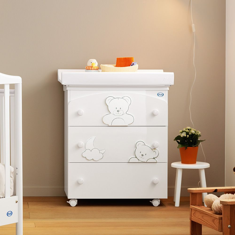 Georgia F Pali Changing Table Baby Bath With 3 Drawers