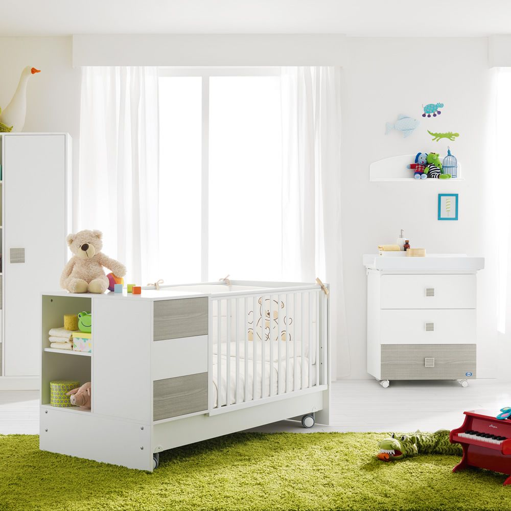 babybett mit schubladen kinderbett wei mit schubladen moderne babybett mit wickelkommode und. Black Bedroom Furniture Sets. Home Design Ideas
