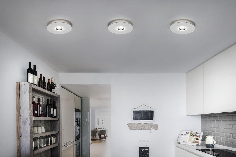 bugia designer deckenlampe aus metall und plexiglas led. Black Bedroom Furniture Sets. Home Design Ideas