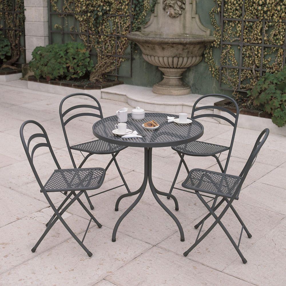 rig28 klapparer stuhl aus metall in verschiedenen farben verf gbar f r garten sediarreda. Black Bedroom Furniture Sets. Home Design Ideas