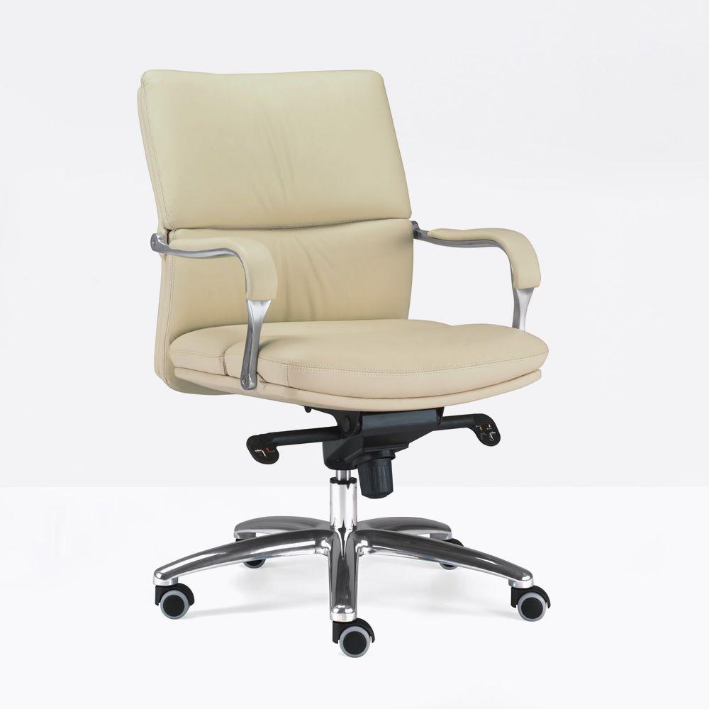 ml578 fauteuil de direction en tissu ou simili cuir avec accoudoirs et dossier bas. Black Bedroom Furniture Sets. Home Design Ideas
