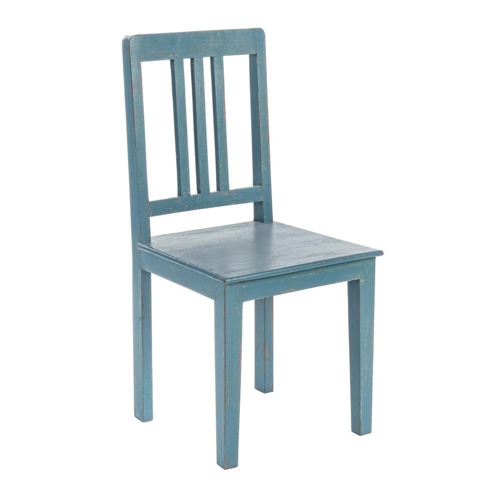 Maria silla de madera shabby chic disponible en for Sillas madera colores