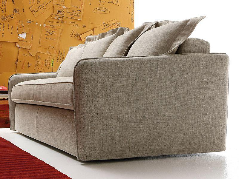 lazio canap lit 2 places 3 places ou 3 places xl en tissu ou similicuir d houssable. Black Bedroom Furniture Sets. Home Design Ideas