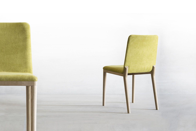 Salt pepper chair sedia moderna di tonon in legno imbottita