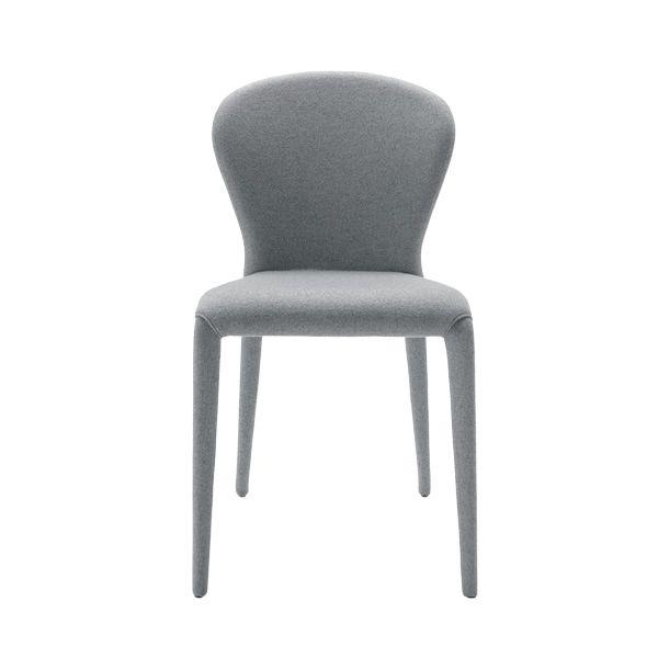 soffio ts stuhl midj aus leder kunstleder oder stoff bezogen in verschiedenen farben. Black Bedroom Furniture Sets. Home Design Ideas