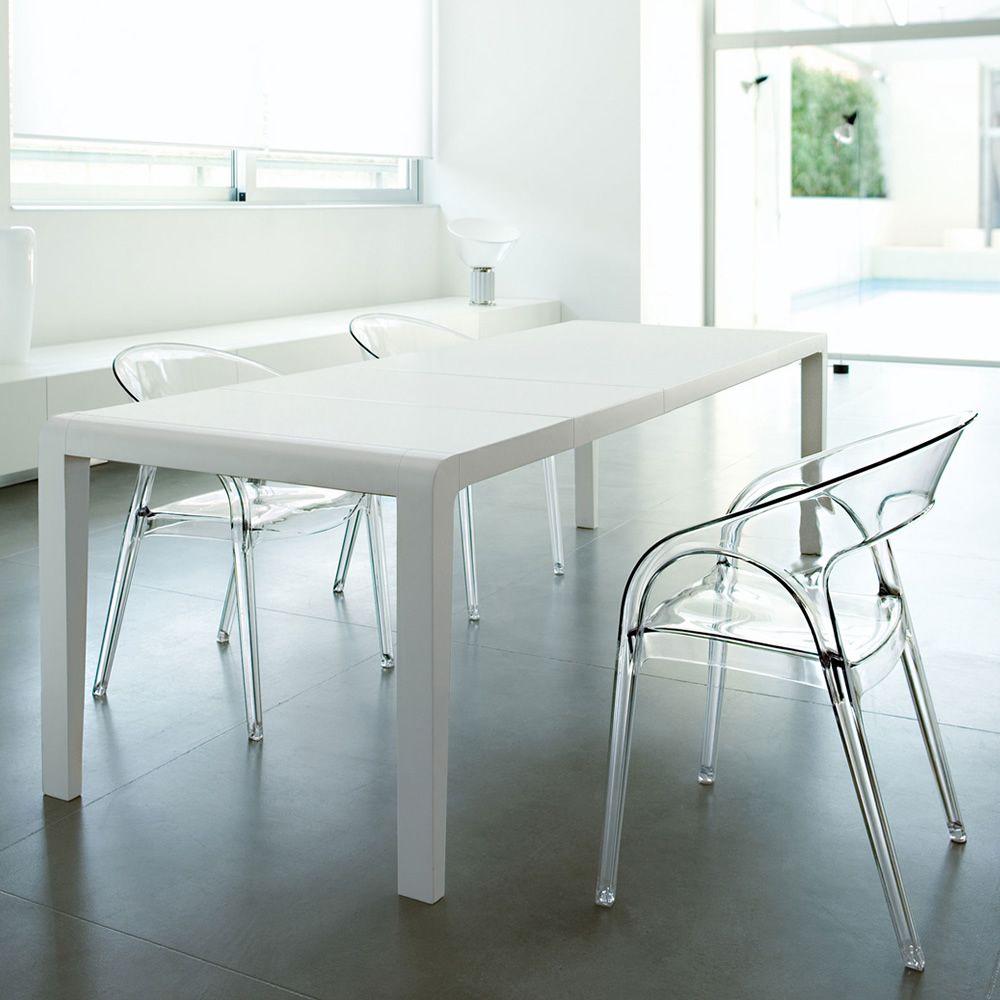 Gossip 620 sedia pedrali di design con braccioli in - Tavolo policarbonato ...