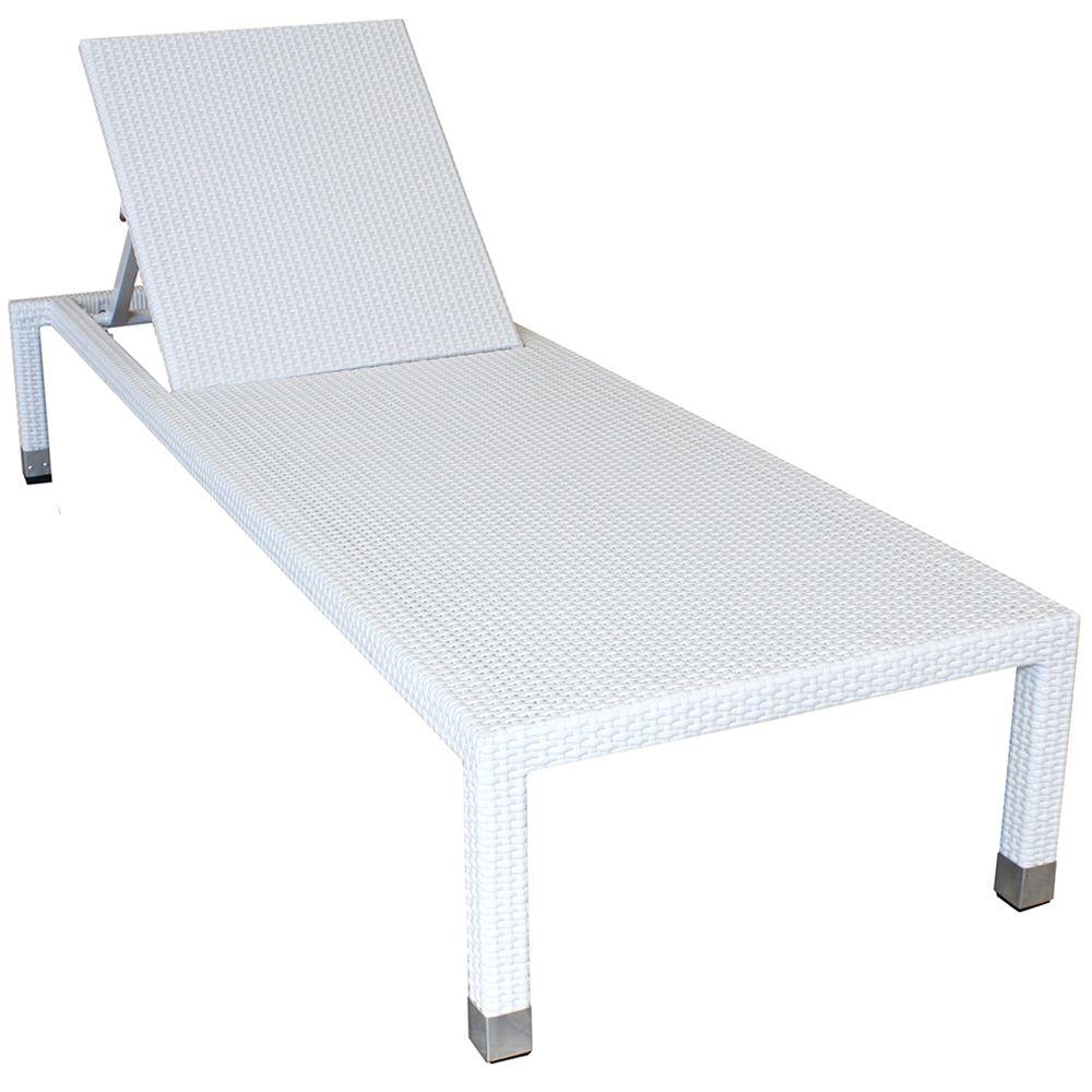 Sam chaise longue de jardin pour l 39 ext rieur en for Table exterieur 40x40