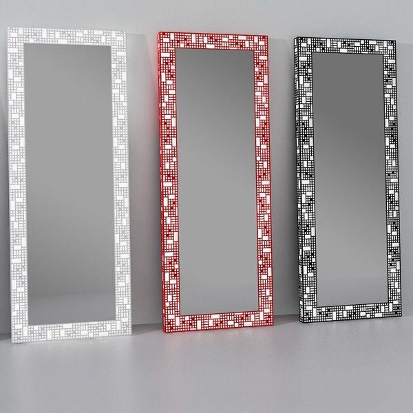 City c miroir avec cadre lumineux en m tal led for Miroir 140 x 70