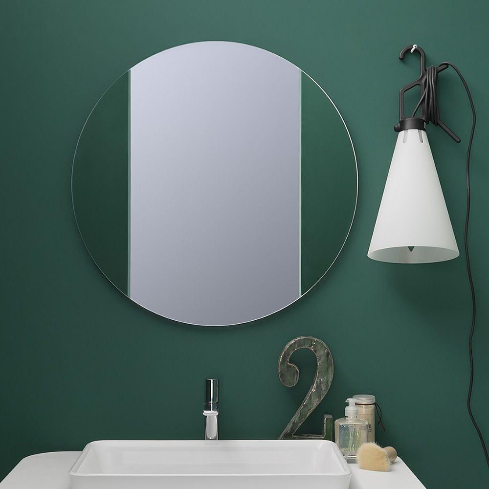 acqua r runder spiegel in verschiedenen gr en verf gbar sediarreda. Black Bedroom Furniture Sets. Home Design Ideas
