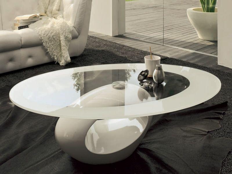 6608 dubai tavolino da salotto tonin casa piano in vetro for Tavolini da salotto bianchi