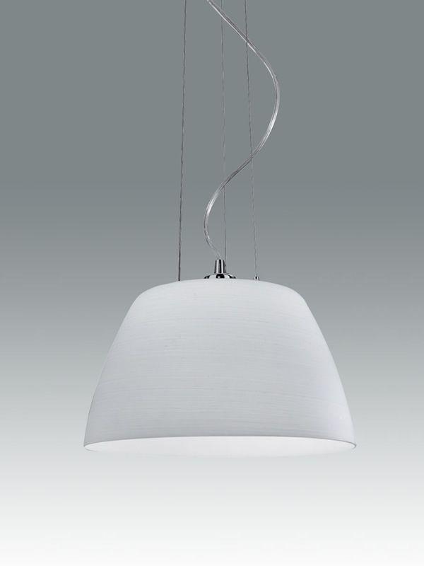 Lampada Sospensione Vetro Metallo Alien : Fa s lampada a sospensione in metallo e vetro