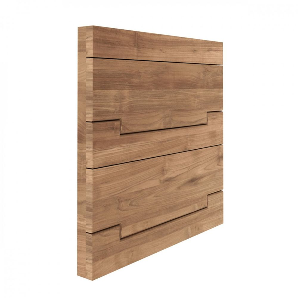 utilitle s panneau mural ethnicraft en bois avec. Black Bedroom Furniture Sets. Home Design Ideas