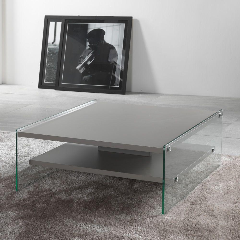 maxim table basse en verre et plateau en stratifi 233