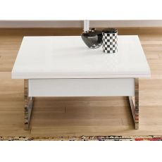 Didone Q - Transformable coffee table, 90 - 180x90 cm, height 41 - 74 cm, different colours