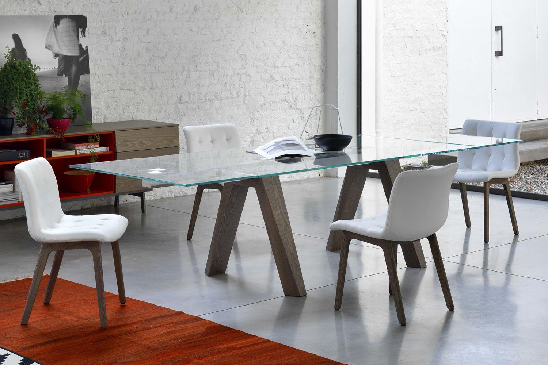 Aron Tavolo Di Design Di Bontempi Casa 200 X 106 Cm