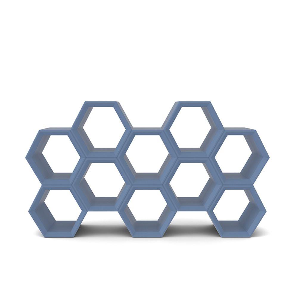 hexa biblioth que modulable slide en poly thyl ne id ale. Black Bedroom Furniture Sets. Home Design Ideas