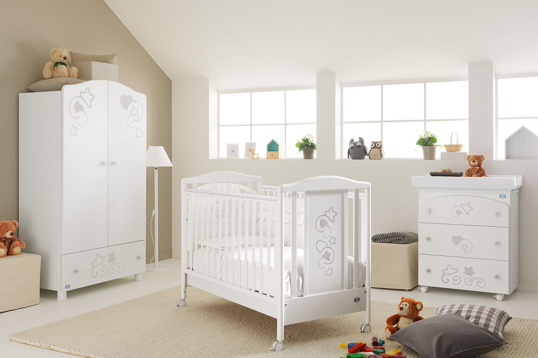 glammy lit b b pali en bois avec tiroir sommier. Black Bedroom Furniture Sets. Home Design Ideas