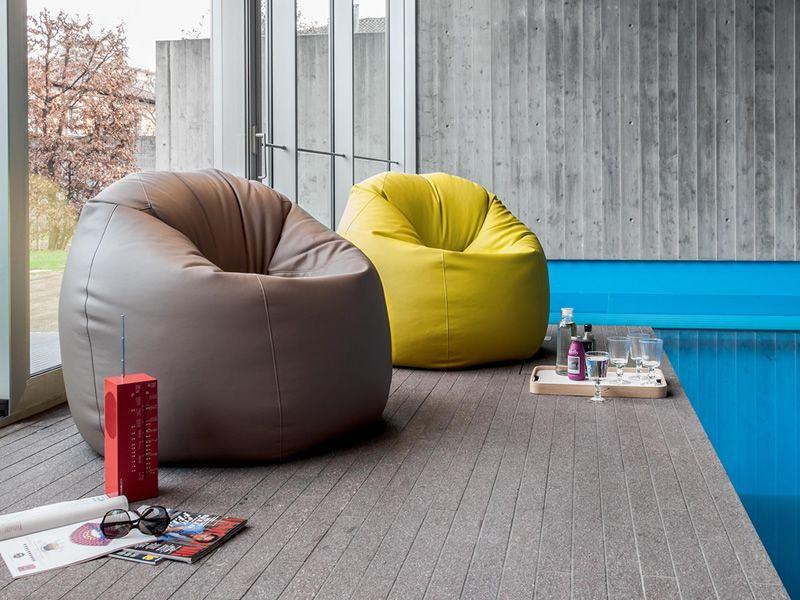 designer sessel mit pouf – polifemo polstersessel von adrenalina, Mobel ideea