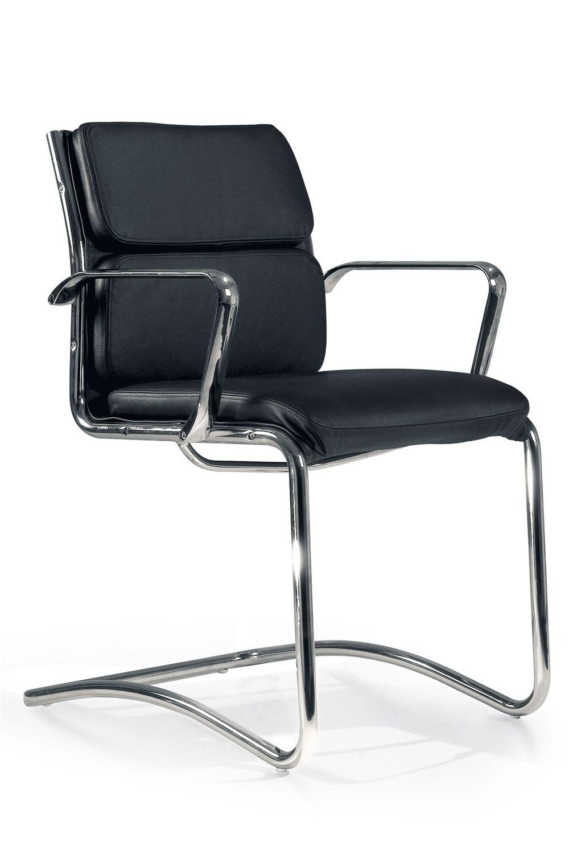 clip host besucherstuhl f r chefb ro mit oder ohne armlehnen sitz aus stoff leder oder. Black Bedroom Furniture Sets. Home Design Ideas