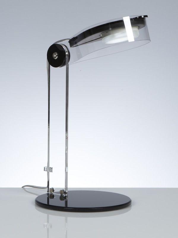 Bye lampada da tavolo in metacrilato e policarbonato led sediarreda - Lampada da tavolo a led ...