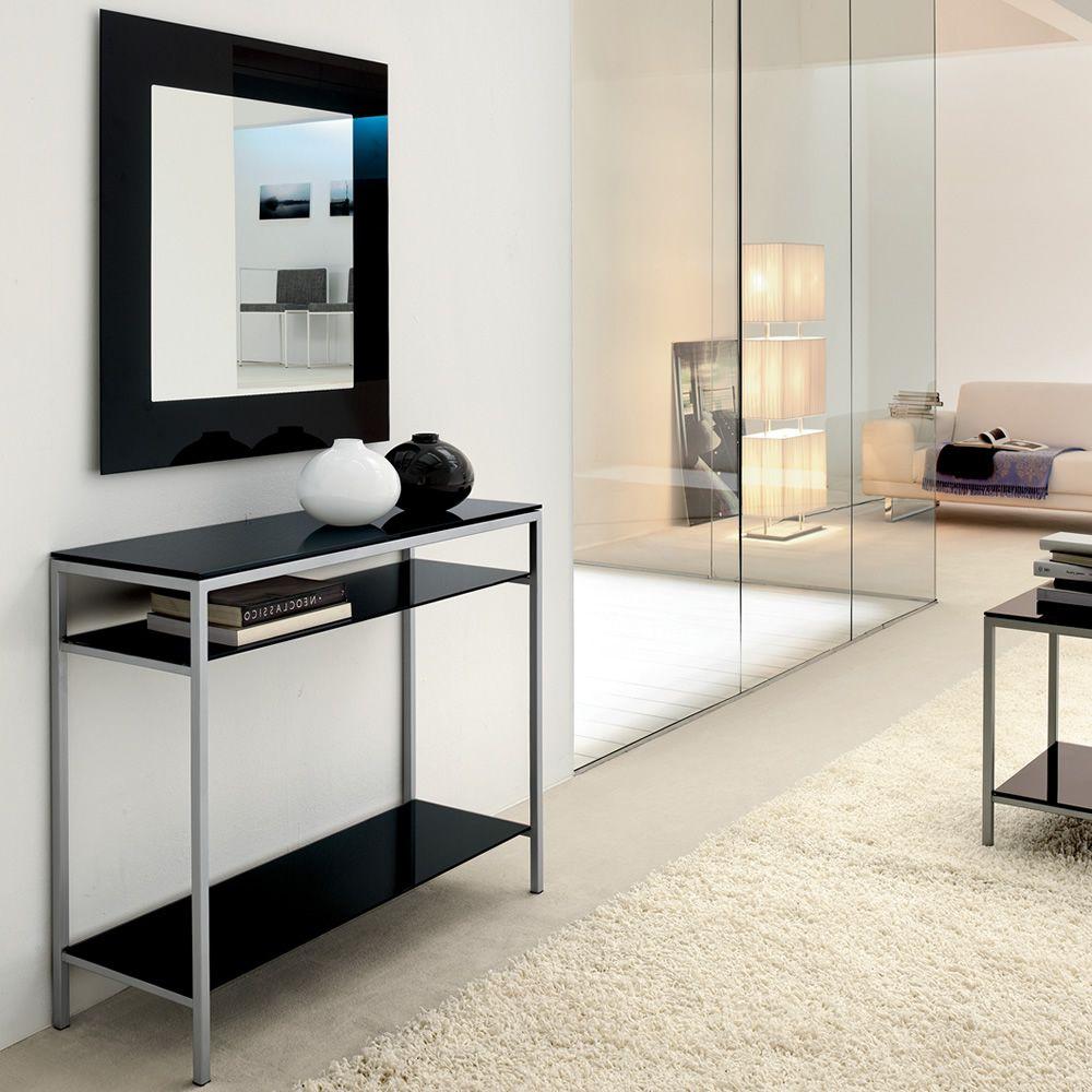 Toshima 5032 - Specchio quadrato Tonin Casa con cornice in vetro, diverse finiture disponibili ...