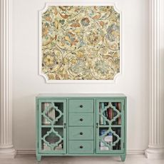 Astro - Shabby chic cupboard in wood, 105x35.5 cm, in several colours