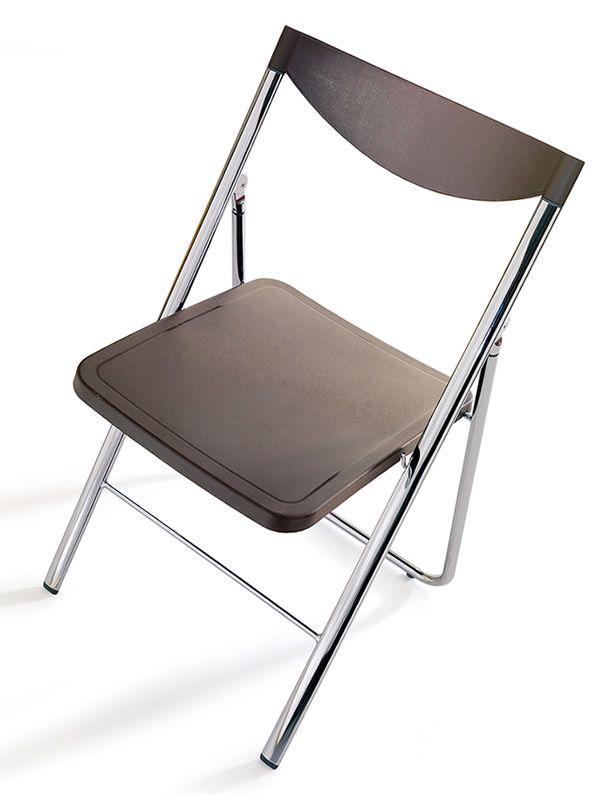 nobys chaise pliante moderne en m tal et polypropyl ne sediarreda. Black Bedroom Furniture Sets. Home Design Ideas