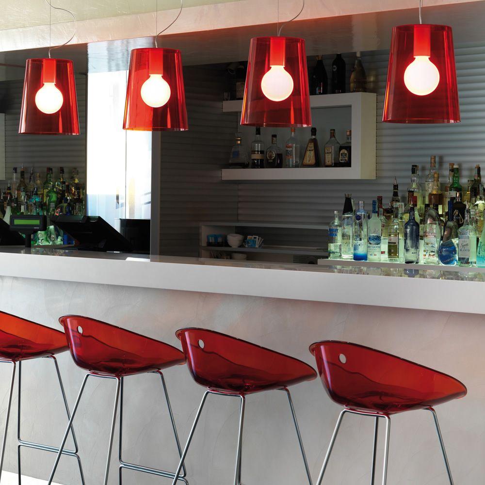 gliss 902 pour bars et restaurants moderne tabouret de bar en m tal et polycarbonate. Black Bedroom Furniture Sets. Home Design Ideas