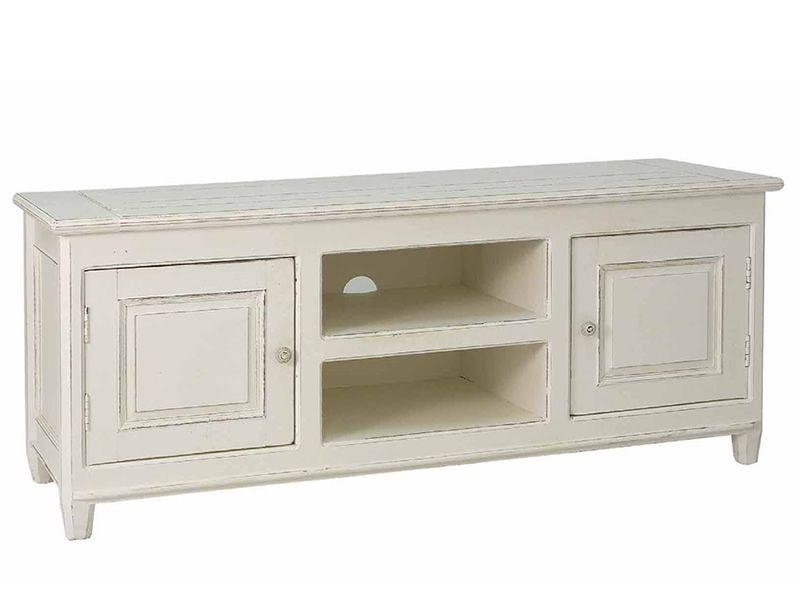 Egadi meuble tv en bois 145x45 cm hauteur 60 cm for Bureau meuble traduction