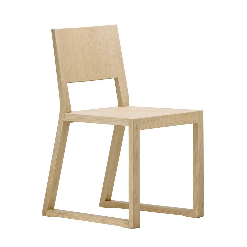 Feel 450 sedia pedrali di design in legno di rovere for Sedia design faccia