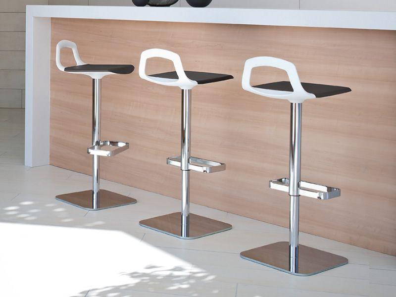 Pop s sgabello moderno girevole con altezza seduta a 75 cm in