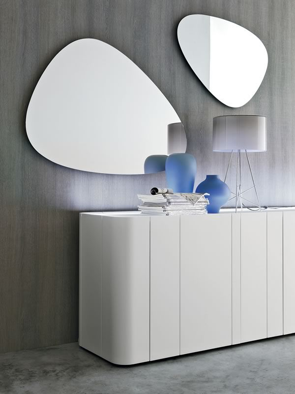 ... Stone 7529 - Shaped mirror, different sizes available ...