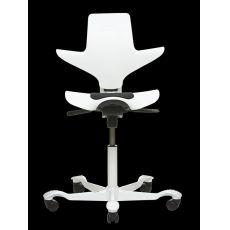 Capisco® Puls White - Sedia ufficio HÅG con seduta a sella