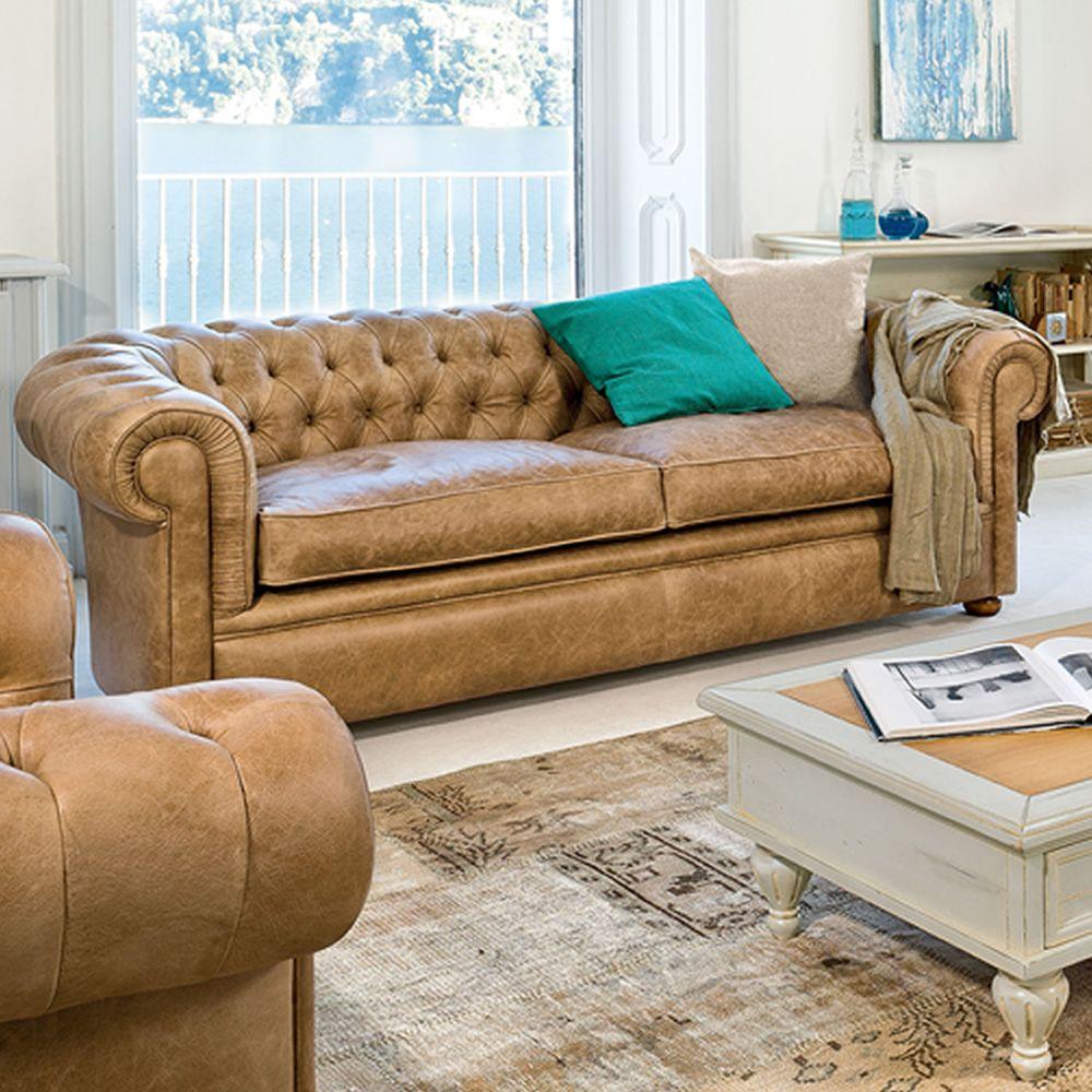 messier l 4383 canap classique 3 places tonin casa. Black Bedroom Furniture Sets. Home Design Ideas