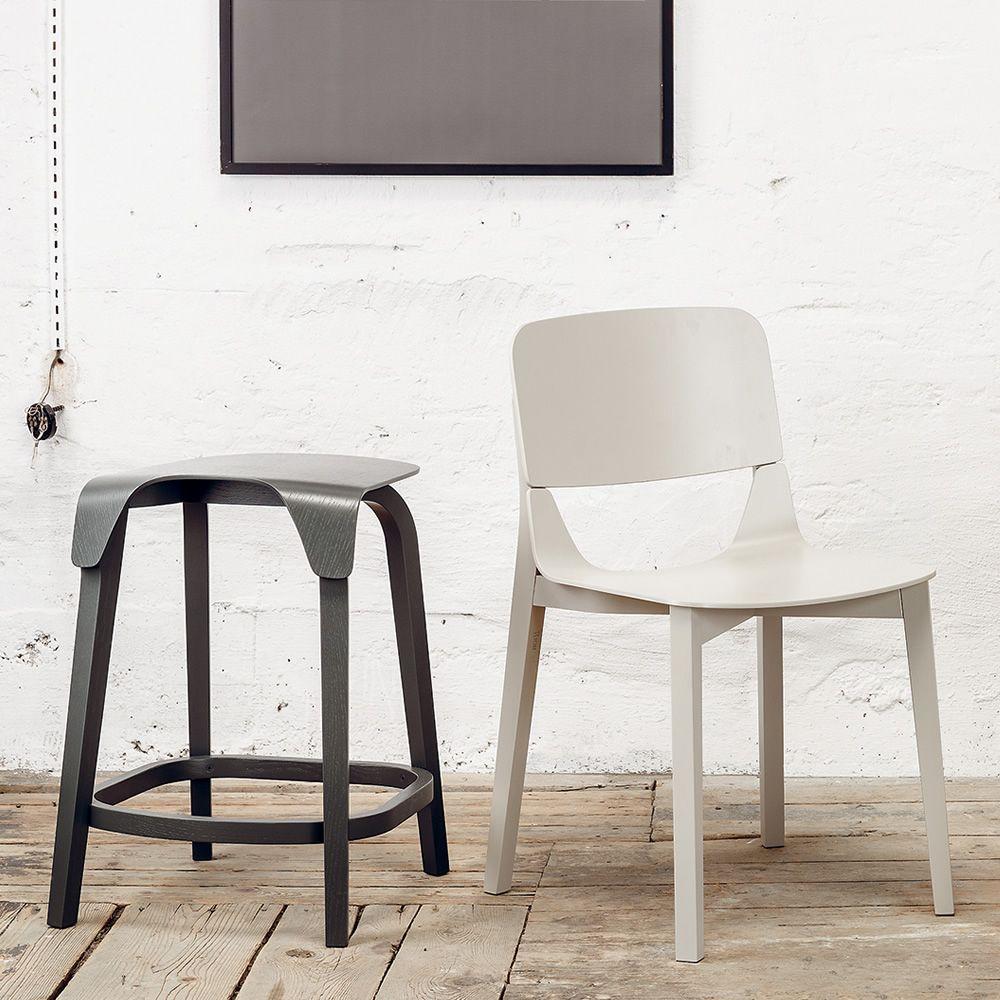 leaf stool hocker ton aus holz mit sitz aus holz sitzh he 61 oder 76 cm sediarreda. Black Bedroom Furniture Sets. Home Design Ideas