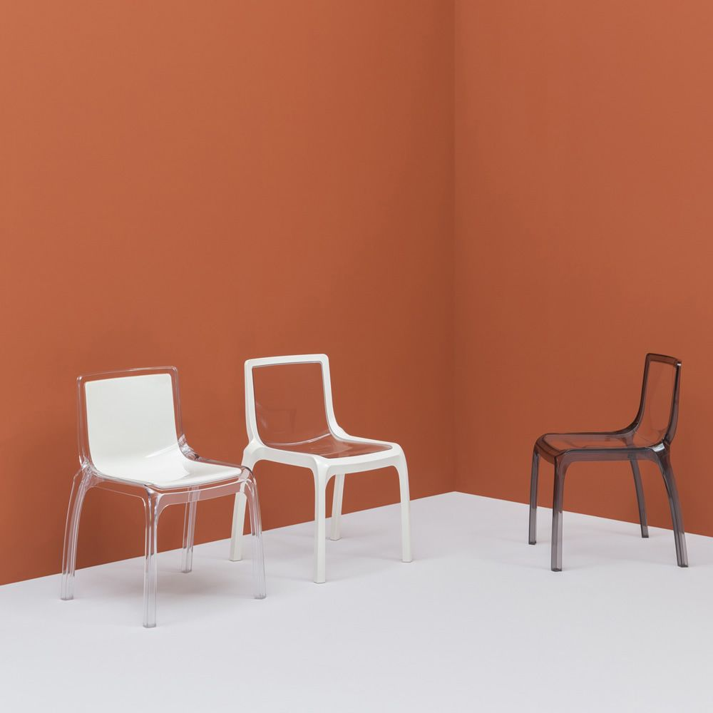 Missoni Home Armchair Miss: Miss_You 610: Pedrali Modern Chair, In Polycarbonate